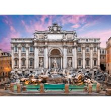 Пазл Clementoni, 500 элементов - Фонтан де Треви, Рим