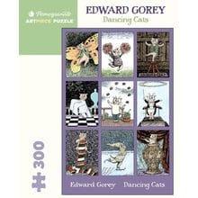Пазл Pomegranate, 300 элементов - Эдвард Гори: Танцующие кошки