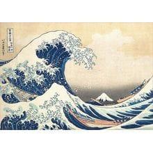 Пазл Educa, 500 элементов - Большая волна в Канагаве