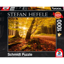 Пазл Schmidt, 1000 элементов - Стефан Хефеле: Осенняя магия