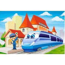 Пазл Castorland, 40 элементов - На железнодорожной станции