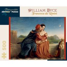 Пазл Pomegranate, 500 элементов - Уильям Дайс: Франческа да Римини