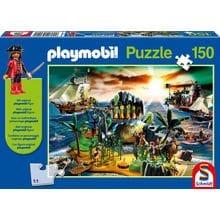 Пазл Schmidt, 150 элементов - Playmobil Пиратский остров