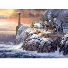 Пазл Cobble Hill, 1000 элементов - Маяк зимой