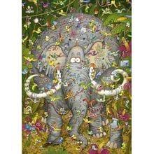 Пазл Heye, 1000 элементов - Жизнь слона