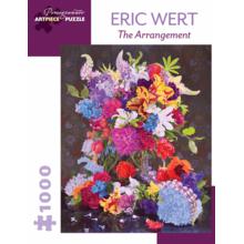 Пазл Pomegranate, 1000 элементов - Эрик Верт: Цветочная композиция