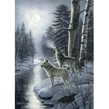 Пазл Cobble Hill, 1000 элементов - Волки в новолуние