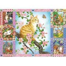 Пазл Cobble Hill, 1000 элементов - Jane Maday: Котята в цветах