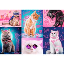 Пазл Trefl, 1000 элементов - Супер кошки
