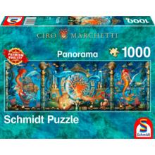 Пазл Schmidt, 1000 элементов - Сиро Маркетти: Подводный мир