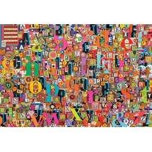 Пазл Cobble Hill, 2000 элементов - Коллаж - Алфавит