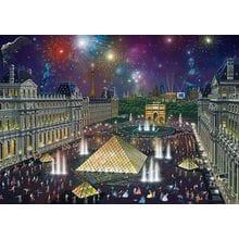 Пазл Schmidt, 1000 элементов - А.Чен Фейерверк над Лувром