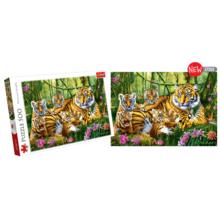 Пазл Trefl, 500 элементов - Семья тигров