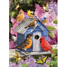 Пазл Cobble Hill, 1000 элементов - Весенний скворечник