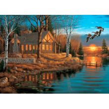 Пазл Cobble Hill, 1000 элементов - Отдых на озере