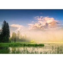 Пазл Schmidt, 1000 элементов - К. Рингер: Озеро Таубензее