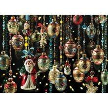 Пазл Cobble Hill, 1000 элементов - Новогодние украшения