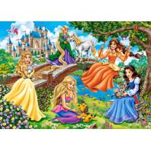 Пазл Castorland, 180 элементов - Принцессы в саду