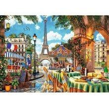 Пазл Trefl, 1000 элементов - Dominic Davison: Парижское утро