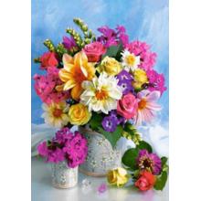 Пазл Castorland, 1500 элементов - Букет цветов