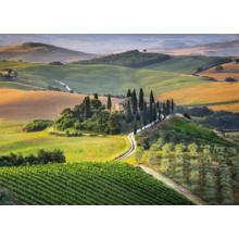 Пазл Clementoni, 1000 элементов - Поля Тосканы