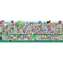 Пазл Heye, 1000 элементов - Спортивные фанаты