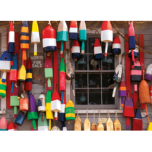 Пазл Cobble Hill, 1000 элементов - Разноцветные поплавки
