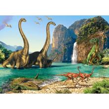 Пазл Castorland, 60 элементов - Динозавры