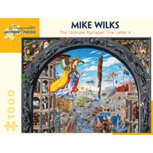Пазл Pomegranate, 1000 элементов - Майк Уилкс: Окончательный Алфавит: Буква А
