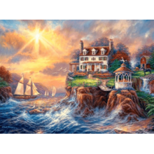 Пазл Castorland, 3000 элементов - Дом на берегу