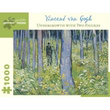 Пазл Pomegranate, 1000 элементов - Ван Гог: Пара на лесной прогулке