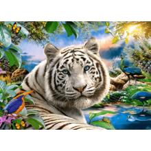 Пазл Castorland, 180 элементов - Белый тигр