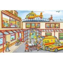 Пазл Schmidt, 100 элементов - Санитарный вертолет