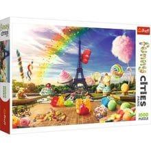 Пазл Trefl, 1000 элементов - Сладости в Париже