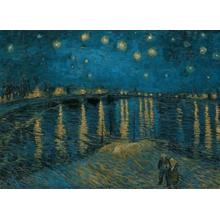 Пазл Clementoni, 1000 элементов - Ван Гог: Звездная ночь над Роной