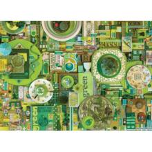 Пазл Cobble Hill, 1000 элементов - Зеленый