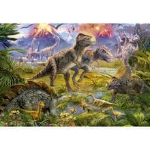 Пазл Educa, 500 элементов - Встреча динозавров