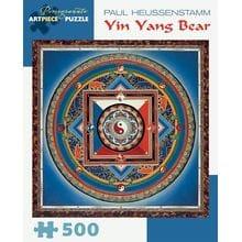 Пазл Pomegranate, 500 элементов - Пауль Хойссенштам: Медведь Инь Ян