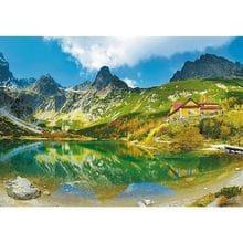 Пазл Trefl, 1000 элементов - Зеленый пруд, Татры