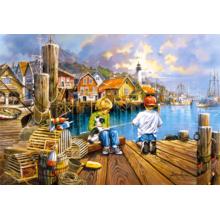 Пазл Castorland 1000 элементов - Рыбалка на пристани