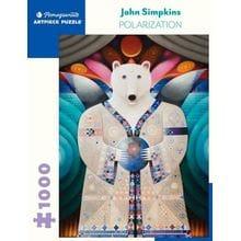 Пазл Pomegranate, 1000 элементов - Джон Симпкинс: Поляризация