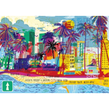 Пазл Heye, 1000 элементов - Я люблю Майами