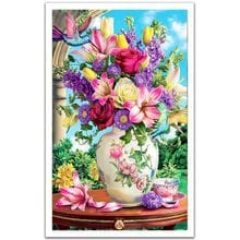 Пазл Pintoo, 1000 элементов - Цветы и колибри