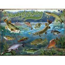 Пазл Cobble Hill, 1000 элементов - Для настоящих рыболовов