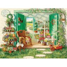 Пазл Cobble Hill, 500 элементов - Магазин цветов
