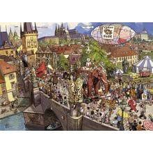 Пазл Heye, 2000 элементов - Уличный парад-алле