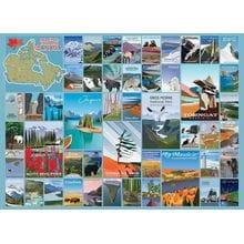 Пазл Cobble Hill, 1000 элементов - Национальные парки Канады