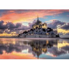 Пазл Clementoni, 1000 элементов - Остров Сан-Мишель на закате