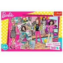 Пазл Trefl, 160 элементов - Барби-модница