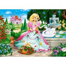Пазл Castorland, 60 элементов - Принцесса с лебедем